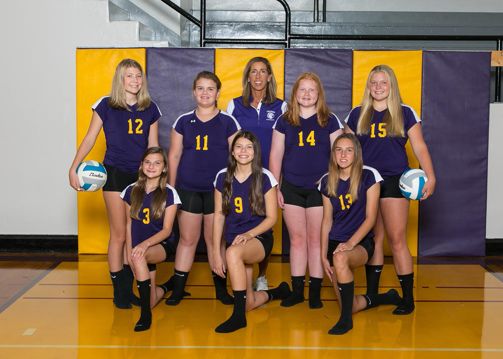 Junior High Volleyball 2017