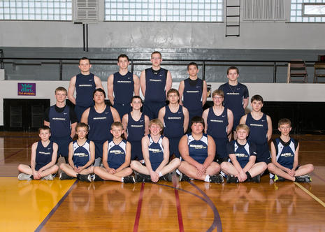 2016 Nelson County Eagles Boy's Track Team